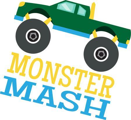 marvel: Geht durch den Schlamm durch Kies auf der h�rtesten Stra�en. Das Off-Road-Wunderwerk ist die perfekte Wahl f�r jeden Design Monster-Truck-Enthusiasten.