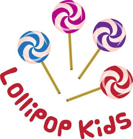 lollipops: Piruletas de Swirly