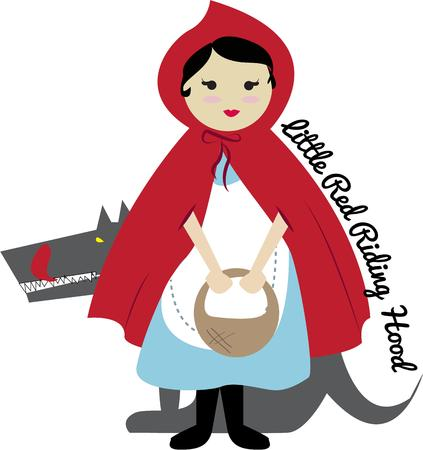 little red riding hood: Cappuccetto rosso
