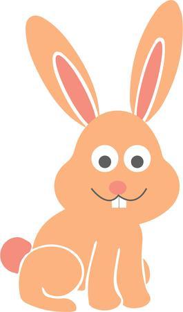 cartoon bunny: Cartoon coniglio