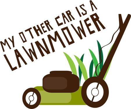 yards: Summertime is here and lawn mowing begins.  This simple graphic is perfect to create shirts for a lawn care company.