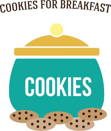tons: Treat time  This big cookie jar holds tons of yummy cookies.  Bake up a bunch