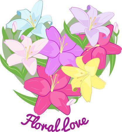 flower heart: Flower heart