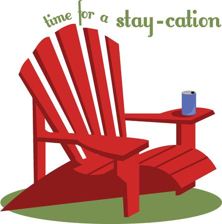 lawn furniture: backyard chair