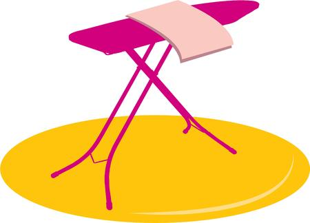board: Ironing board