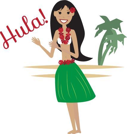 hula: Bailarina de Hula