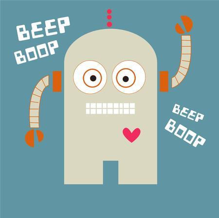 beep: Robot Illustration