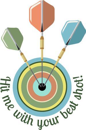 bullseye: Dart Bullseye Illustration