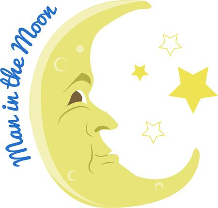 croissant de lune: Croissant de lune Illustration
