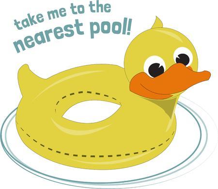 duckie: Duck float