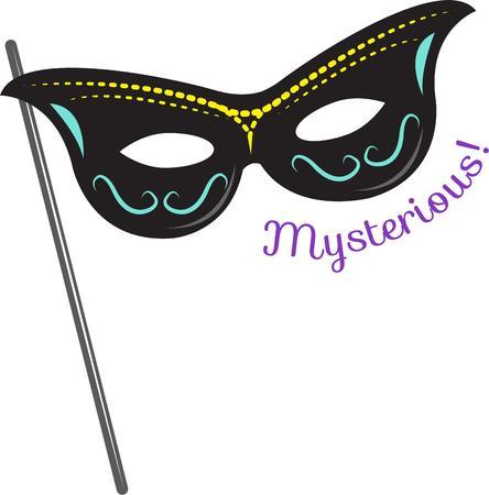 masque: Masquerade Illustration