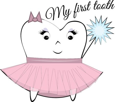 helps: The tooth fairy is a loved childhood fantasy.  This sweet tutu dressed fairy helps you create a perfect tooth fairy pillow.