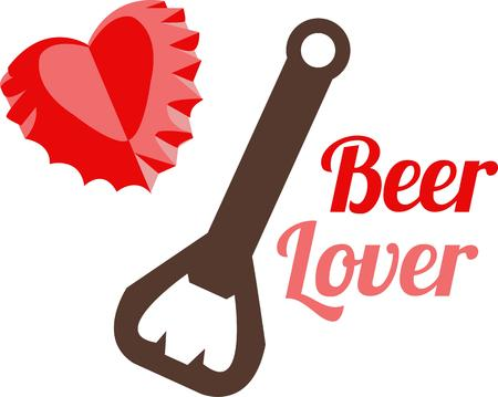 bottle cap opener: Open a bottle of something you love with this special bottle opener.  It makes a heart of every cap it pops