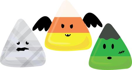 candy corn: Candy corn is our favorite Halloween treat but these sweet monsters are the best  Add them to Halloween gear for fun spooks.