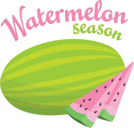 outing: What summer outing is complete without watermelon.  The luscious pink fruit is a juicy favorite.