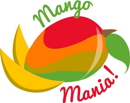 mangoes: A delicious and colorful mango adds a sweet tartness to snack time  Add this pretty fruit to your kitchen gear.
