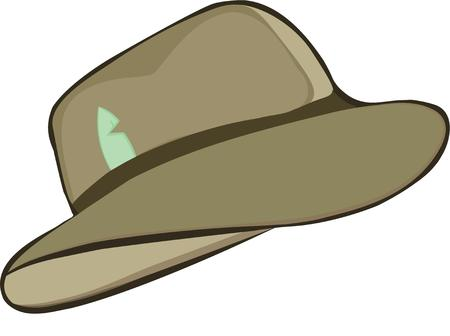 fedora: The classic hat of Indiana Jones  the fedora.  Add this bit of enduring style to your projects.