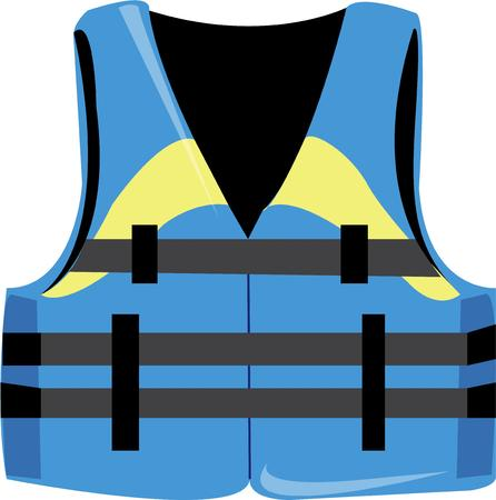 lifejacket: A life jacket is an essential for water sports.  Dont boat without it.