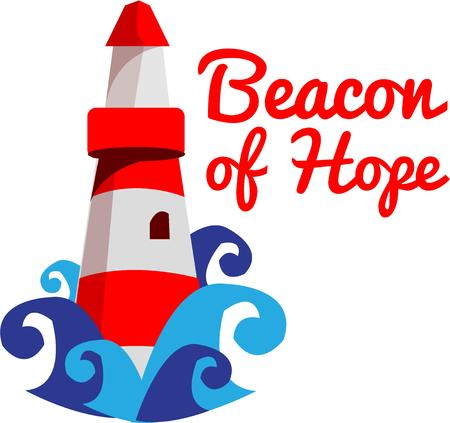 favored: This lighthouse was a beacon of hope for travelers of old.  Today lighthouses are a favored collectable.  Know a collector  Heres a perfect design for them