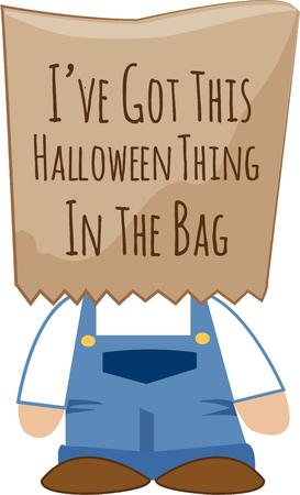 brown paper bag: Here is the most basic costume ever  With a brown paper bag over you head