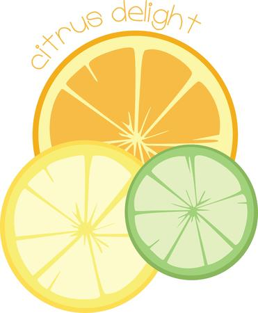 tasteful: A trio of citrus brings tart and tanginess to your taste buds  Add them to your kitchen gear for a tasteful embellishment.