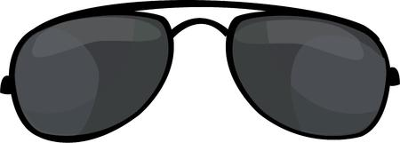 aviators: These aviators are classic attire for police everywhere. Add them to your law enforcement graphics.