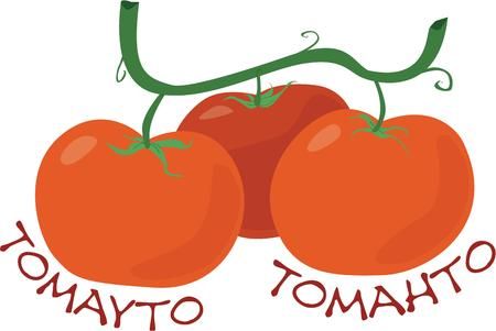 ripened: Plump red tomatoes with ripened goodness add that special touch to your salads and sandwiches.  This trio also adds a special touch to your kitchen decor.