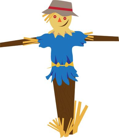 hayman: Autumn is a second spring when every leaf is a flower.  A lovely symbol of fall is this stately scarecrow.  Include this hayman in your creations for a special welcome to Autumn.