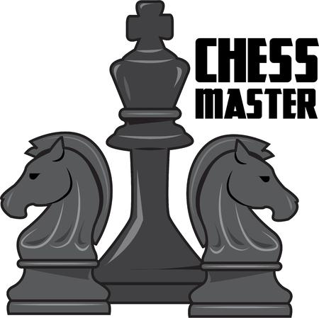 execute: Chess is a game of planning and strategy.  Execute your strategy for a stunning creation with these chess pieces.