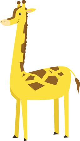 appealing: This whimsical giraffe adds a fun touch.  The simplistic design makes this girl all the more appealing.