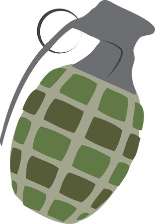 hand grenade: Heres a hand grenade for the military hardware enthusiast.  Sure to create a big bang