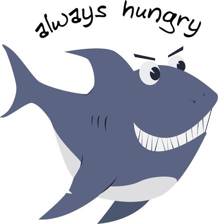 light hearted: ur preditor of the seas is always hungry.  Add him to your kitchen gear for a light hearted touch.
