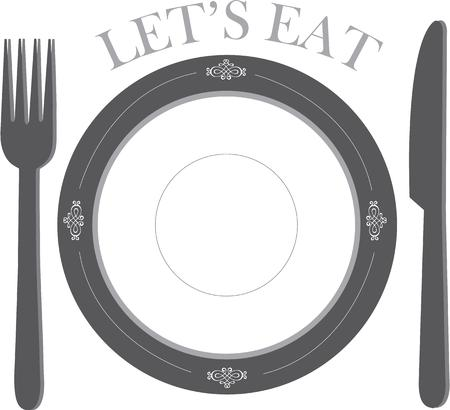 place setting: Dinner is served.  A place setting of fine china and silverware await your dinner guests.