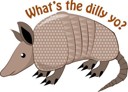 critter: Esta criatura de Texas c�scara dura es una decoraci�n occidental est�ndar. Se embellece todo, desde hebillas de cintur�n de Stetsons Vectores
