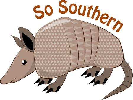 critter: Esta criatura de Texas c�scara dura es una decoraci�n occidental est�ndar.