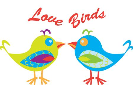 light hearted: Colorful and fun birds are a light hearted addition to any design.