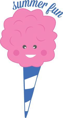 algodon de azucar: El verano es m�s divertido con algod�n de az�car.