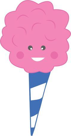 cotton candy: El verano es m�s divertido con algod�n de az�car.