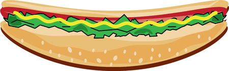 wiener: You cant imagine a summer time cook out without a hot dog.  Our hot dog is simply the best all dressed out with every topping imaginable