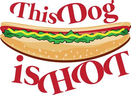 cook out: You cant imagine a summer time cook out without a hot dog.  Our hot dog is simply the best all dressed out with every topping imaginable