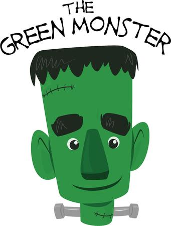 frankenstein: Kids will relate to this cute misunderstood frankenstein.