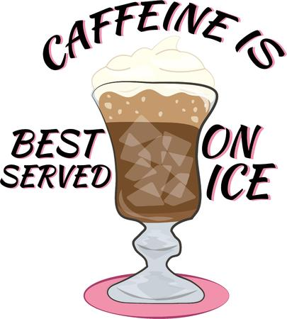arabica: Get your caffeine fix on a hot summer day with a yummy iced coffee.  Served up in a fancy cup with a crown of whipped cream.  Yum