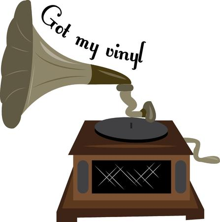 turntables: Vinyl records are a great music source and a victrola is a fun project.