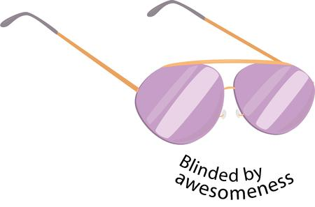 aviator: Be cool with a pair of aviator sunglasses.
