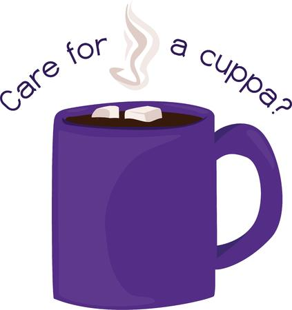chocolat chaud: Une tasse de chocolat chaud est une boisson sur une froide journ�e d'hiver.