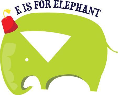 해학적 인: This humorous pachyderm brings a jolly touch to an animal theme dcor.  Especially cute for kids themes.