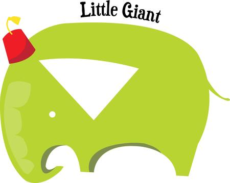 humorous: This humorous pachyderm brings a jolly touch to an animal theme dcor.  Especially cute for kids themes.