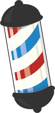 barber: The barber pole is a long time symbol of a barber shop.  This graphic is perfect for makes lovely barber shop promotionals.