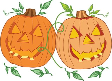 know how: Let someone know how much they mean on halloween. Illustration