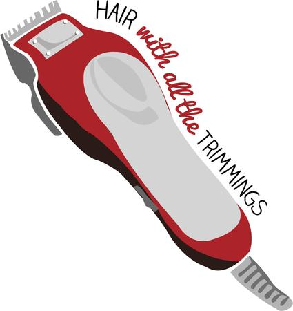 trimmers: These trimmers allow the stylist to create the perfect style.  The perfect design for your favorite stylist.